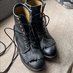 Vintage Justin Leather Boots